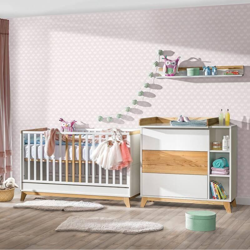 Chambre pour bébé scandinave Nordik 8 éléments