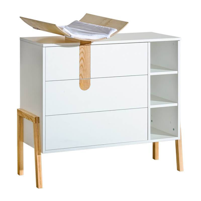 Commode avec plan langer collection yeti - Plan a langer a fixer sur commode ...