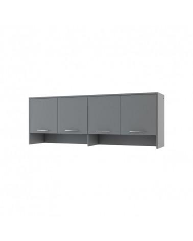Rangement gris pour lit escamotable hauteur 80 cm