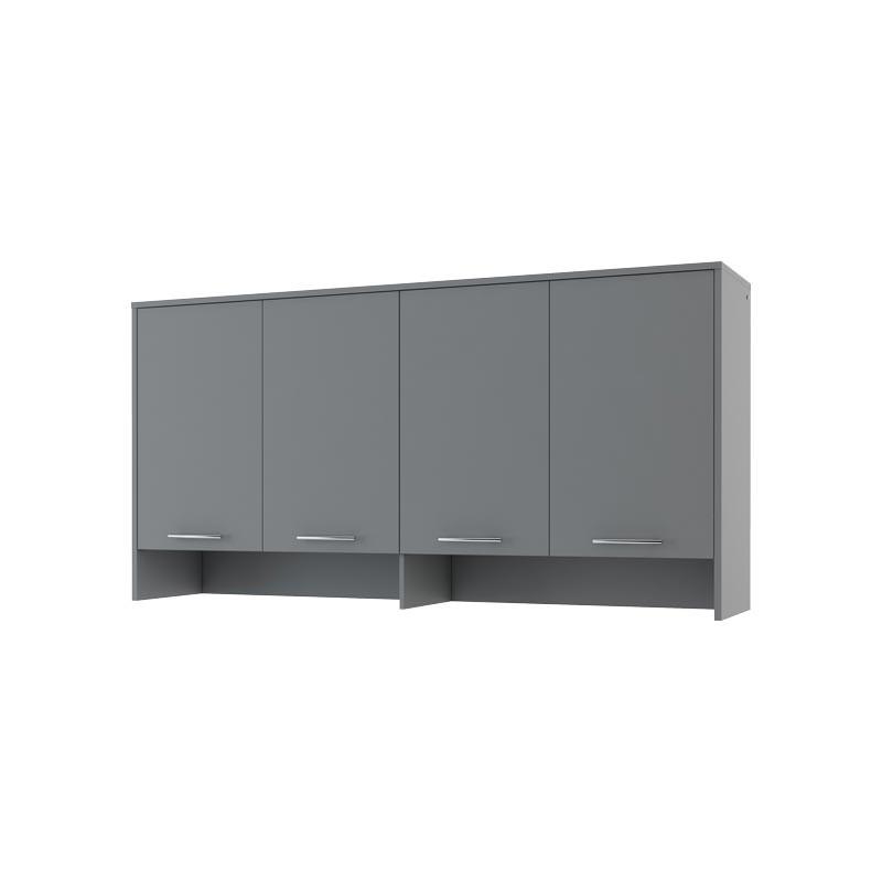 Rangement gris pour lit escamotable hauteur 110 cm