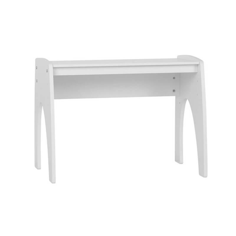 Petite table réglable blanche pour chambre bébé