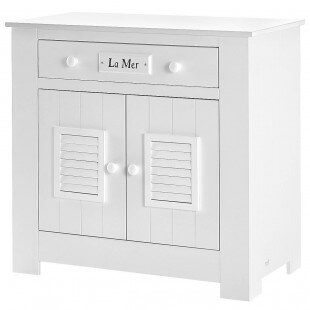 Commode Plage Blanche - MDF