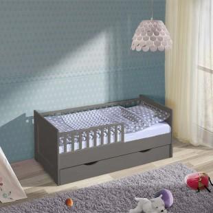Chambre enfant avec lit junior graphite