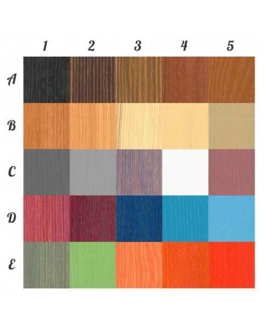 Lit enfant superposé Jeanne personnalisable dans ces couleurs, nous contacter pour personnaliser.