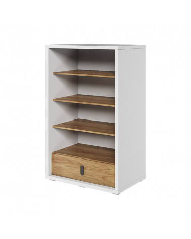 Bibliothèque MASSI avec tiroir de rangement