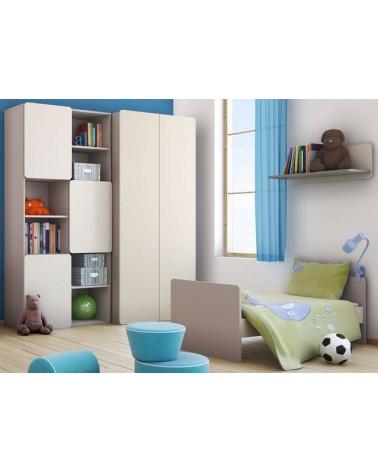Chambre enfant avec une Bibliothèque 2PIR - BABY VOX