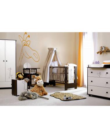 Étagère Girafe dans une chambre de bébé
