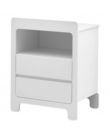 Commode collection Moon couleur blanche