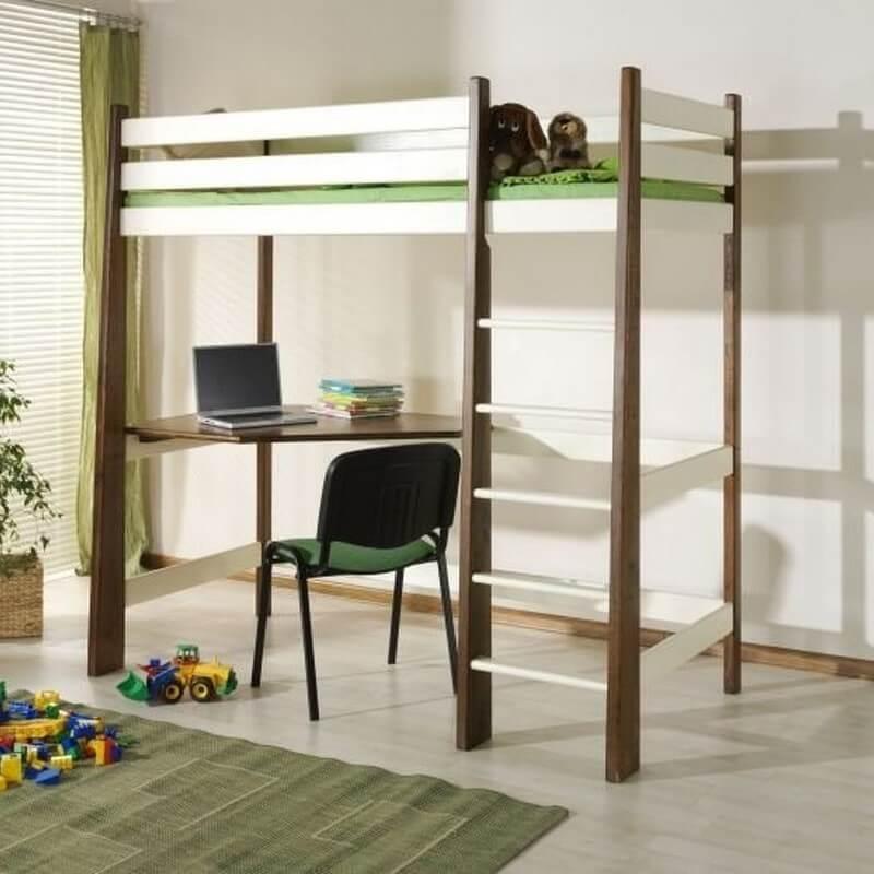 Lit mezzanine Milo personnalisable pour chambre enfant