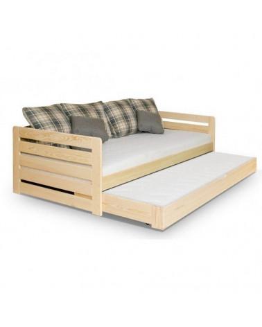 Lit enfant Rodos avec un lit d'appoint dans le tiroir