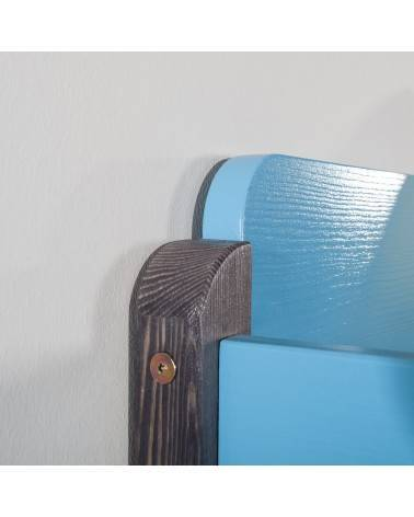 Lit superposé Natu 2 - Graphite et Bleu
