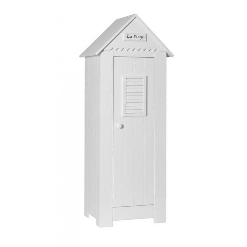 Armoire Cabine De Plage Simple En Pin Massif