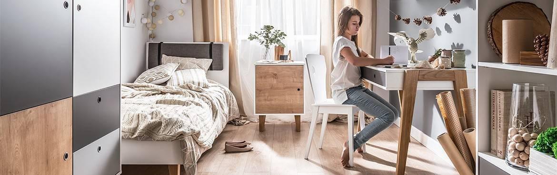 Chambre adolescent contemporaines : du mobilier élégant