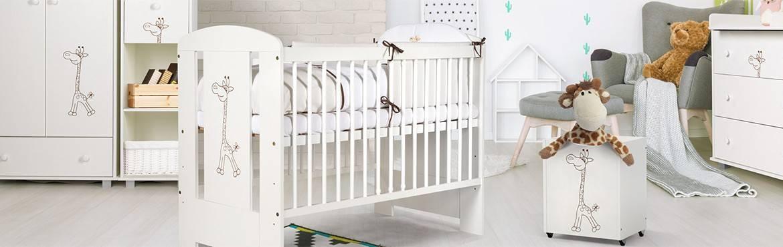 Chambre de bébé, collection Girafe Blanche, une décoration raffinée
