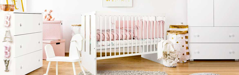 Chambre bébé blanche Paula   Petite Chambre